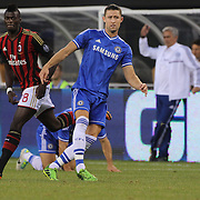 Gary Cahill, Chelsea, in action during the Chelsea V AC Milan Guinness International Champions Cup tie at MetLife Stadium, East Rutherford, New Jersey, USA.  4th August 2013. Photo Tim Clayton