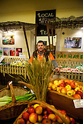 Zdravicek Farmer Food Shop - der Leiter der Filiale.