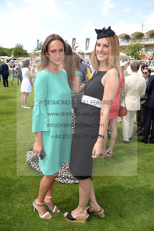 Left to right, LAVINIA BRENNAN and SUSANNA WARREN at the 3rd day of the 2013 Glorious Goodwood racing festival - Ladies day at Goodwood Racecourse, West Sussex on 1st August 2013.