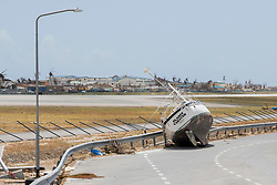 Images of the island of St Maarten after hurricane irma has hit the dutch and France island on september 12, 2017. Photo by Robin utrecht/ABACAPRESS.COM