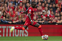 Football - 2021 / 2022 Premier League - Liverpool vs Burnley - Anfield - Saturday 21st August 2021<br /> <br /> <br /> <br /> Liverpool's Sadio Mane in action during todays match