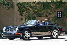 George Clooney takes a spin in his classic Porsche - 27 April 2020