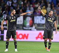 Leonardo Bonucci Juventus Giorgio Chiellini Juventus <br /> Parma 01-09-2018 Stadio Ennio Tardini Calcio Serie A 2018/2019 Parma - Juventus <br /> Foto Andrea Staccioli / Insidefoto
