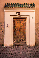 The medina in Marrakech has an incredible array of interesting doors and architecture.
