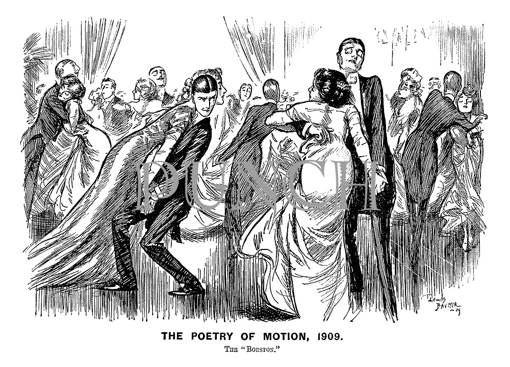 """The Poetry of Motion, 1909. The 'Borston."""""""