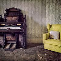 Mason and Hamlyn organ at the Bessingham Hall
