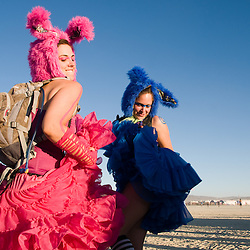 Images from the 24th annual Burning Man Arts and Culture Festival in Black Rock City, Nev., near Gerlach, Aug. 29 through Sept. 5, 2010.<br /> <br /> Photos by David Calvert
