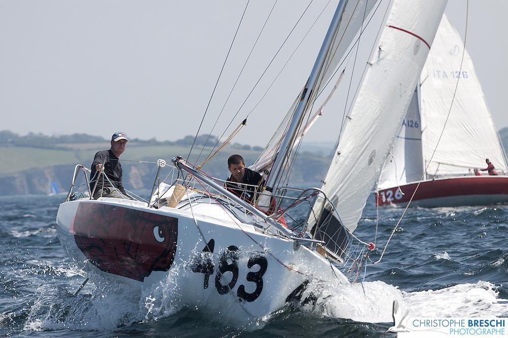 Prologue du mini Fastnet 2010