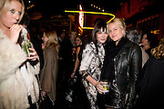 SOPHIA HESKETH; ANNABEL NEILSON; OLYMPIA SCARRY,  Prada Congo Art Party hosted by Miuccia Pada and Larry Gagosian. The Double Club,  Torrens St. London EC1. The Double Club is A Carsten Holler project by Fondazione Prada. 10 February 2009. *** Local Caption *** -DO NOT ARCHIVE-© Copyright Photograph by Dafydd Jones. 248 Clapham Rd. London SW9 0PZ. Tel 0207 820 0771. www.dafjones.com.<br /> SOPHIA HESKETH; ANNABEL NEILSON; OLYMPIA SCARRY,  Prada Congo Art Party hosted by Miuccia Pada and Larry Gagosian. The Double Club,  Torrens St. London EC1. The Double Club is A Carsten Holler project by Fondazione Prada. 10 February 2009.