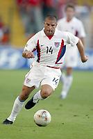FOTBALL - CONFEDERATIONS CUP 2003 - GROUP B - TYRKIA v USA - 030619 - CHRIS ARMAS  (USA) - PHOTO STEPHANE MANTEY / DIGITALSPORT