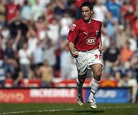 Photo: Jonathan Butler.<br /> Bristol City v Yeovil Town. Coca Cola League 1. 14/04/2007.<br /> Lee Johnson of Bristol celebrates after scoring.