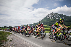 Michael Kukrle (CZE) of Elkov-Author Cycling team during Stage 1 of 24th Tour of Slovenia 2017 / Tour de Slovenie from Koper to Kocevje (159,4 km) cycling race on June 15, 2017 in Slovenia. Photo by Vid Ponikvar / Sportida
