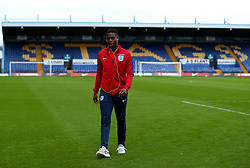Jonathan Leko of England - Mandatory by-line: Robbie Stephenson/JMP - 05/09/2017 - FOOTBALL - One Call Stadium - Mansfield, United Kingdom - England U19 v Germany U19 - International Friendly