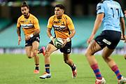 Noah Lolesio. NSW Waratahs v ACT Brumbies. 2021 Super Rugby AU Round 7 Match. Played at Sydney Cricket Ground on Friday 2 April 2021. Photo Clay Cross / photosport.nz