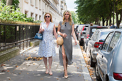 Nicky Hilton walk on Avenue Montaigne during Paris Haute Couture Fall Winter 2018/2019 in Paris, France on July 02, 2018. Photo by Nasser Berzane/ABACAPRESS.COM