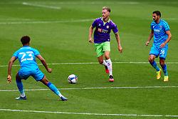 Tomas Kalas of Bristol City in action - Rogan/JMP - 21/08/2020 - Ashton Gate Stadium - Bristol, England - Bristol City v Cheltenham Town - Pre Season Friendly.