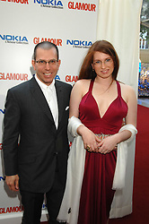 JONATHAN NEWHOUSE and his daughter EMILY NEWHOUSE at the Glamour magazine Women of the Year Awards held in the Berkeley Square Gardens, London W1 on 5th June 2007.<br /><br />NON EXCLUSIVE - WORLD RIGHTS