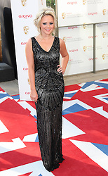 Emily Atack arriving at the British Academy Television Awards in London, Sunday , 27th May 2012.  Photo by: Stephen Lock / i-Images