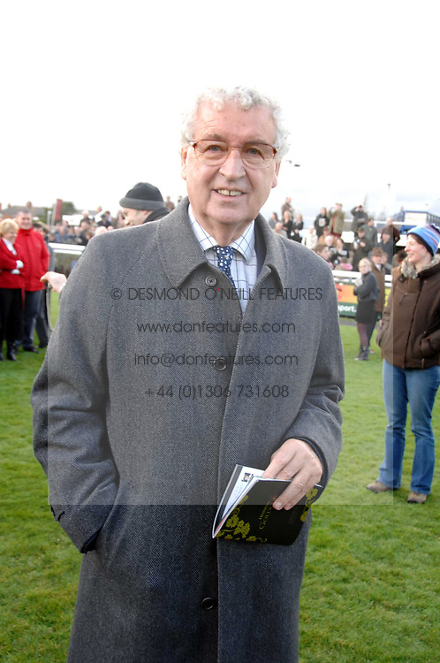 LORD DONOUGHUE at the 2007 Hennessy Gold Cup held at Newbury racecourse, Berkshire on 1st December 2007.<br /><br />NON EXCLUSIVE - WORLD RIGHTS