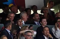 Spain´s king Felipe VI during FIBA Basketball World Cup Spain 2014 final match between United States and Serbia at `Palacio de los deportes´ stadium in Madrid, Spain. September 14, 2014. (ALTERPHOTOSVictor Blanco)