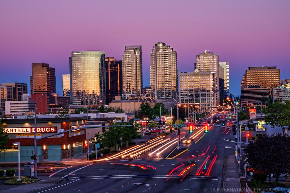 Bellevue Skyline, Early Morning