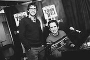 Photos of singer Josh Groban and Seth Rudetsky at the SiriusXM Studios on February 5, 2013 in New York City. Copyright © 2013. Matthew Eisman. All Rights Reserved