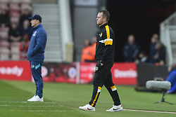 January 26, 2019 - Middlesbrough, North Yorkshire, United Kingdom - Newport County manager Mike Flynn pictured during the FA Cup match between Middlesbrough and Newport County at the Riverside Stadium, Middlesbrough on Saturday 26th January 2019. (Credit Image: © Mi News/NurPhoto via ZUMA Press)