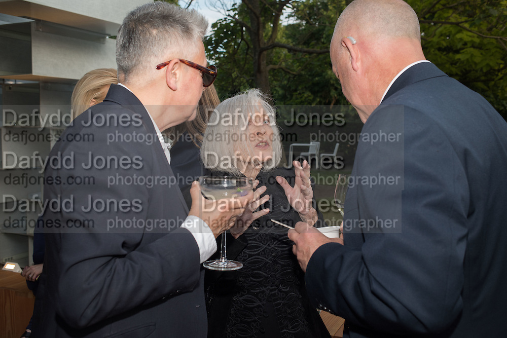 NIKKI BELL; DORIS SAATCHI; BEN LANGLANDS Party  to celebrate Julia Peyton-Jones's  25 years at the Serpentine. London. 20 June 2016
