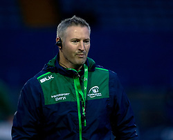Forwards Coach Jimmy Duffy of Connacht during the pre match warm up<br /> <br /> Photographer Simon King/Replay Images<br /> <br /> Guinness PRO14 Round 14 - Cardiff Blues v Connacht - Saturday 26th January 2019 - Cardiff Arms Park - Cardiff<br /> <br /> World Copyright © Replay Images . All rights reserved. info@replayimages.co.uk - http://replayimages.co.uk