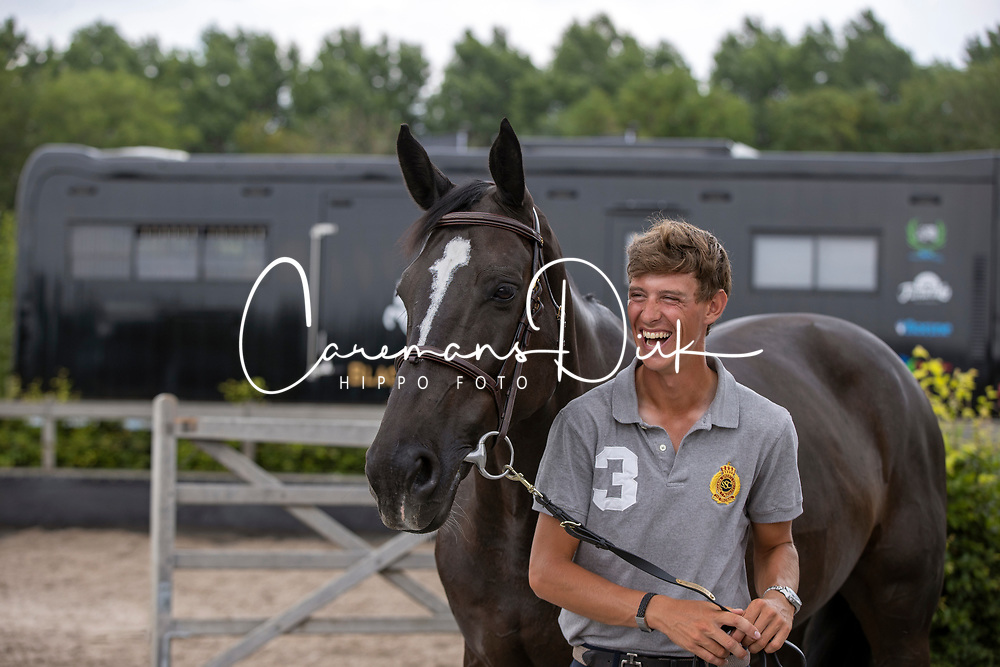 Black on black<br /> Black Horses Stables - Sliedrecht 2020<br /> © Hippo Foto - Dirk Caremans<br /> 27/06/2020