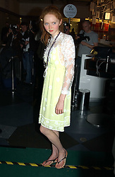 Model LILY COLE at a party to celebrate the launch of the new Matthew Williamson fragrance held at Harvey Nichols, Knightsbridge, London on 14th June 2005.<br /><br />NON EXCLUSIVE - WORLD RIGHTS