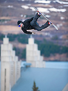 Snowboard competition held in Akureyri, Iceland.