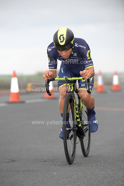 Thursday 7th September 2017: Images from Stage 5 of the 2017 Tour of Britain cycle race. The stage was an ITT around the Tendring district.