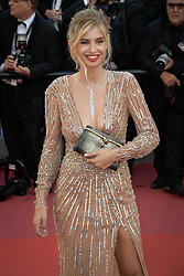Xenia Van Der Woodsen attending the premiere of the film Les Filles du Soleil during the 71st Cannes Film Festival in Cannes, France on May 12, 2018. Photo by Julien Zannoni/APS-Medias/ABACAPRESS.COM