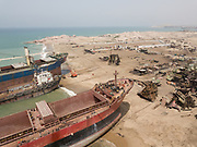 In the 1980s, Gadani was the largest ship-breaking yard in the world, with more than 30,000 direct employees. However, competition from newer facilities in Alang, India and Chittagong, Bangladesh resulted in a significant reduction in output, with Gadani today producing less than one fifth of the scrap it produced in the 1980s. The recent reduction in taxes on scrap metal has led to a modest resurgence of output at Gadani, which now employs around 6,000 workers.