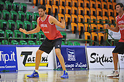 Sassari 14 Agosto 2012 - Qualificazioni Eurobasket 2013 -Allenamento<br /> Nella Foto : ANGELO GIGLI<br /> Foto Ciamillo