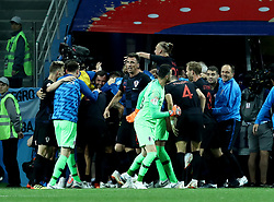 June 21, 2018 - Nizhny Novogorod, Russia - Group D Argentina v Croazia - FIFA World Cup Russia 2018.Croatia celebrates after the goal scored by Ivan Rakitic at Nizhny Novgorod Stadium, Russia on June 21, 2018. (Credit Image: © Matteo Ciambelli/NurPhoto via ZUMA Press)