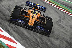 May 11, 2019 - Barcelona, Catalonia, Spain - LANDO NORRIS (GBR) from team McLaren drives in his MCL34 during the third practice session of the Spanish GP at Circuit de Catalunya (Credit Image: © Matthias Oesterle/ZUMA Wire)