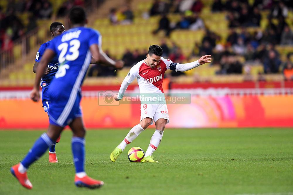 January 19, 2019 - Monaco, France - 09 RADAMEL FALCAO  (Credit Image: © Panoramic via ZUMA Press)