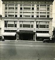 1922 Robertson Dept Store. on NW corner of Hollywood Blvd. & McCadden Pl.
