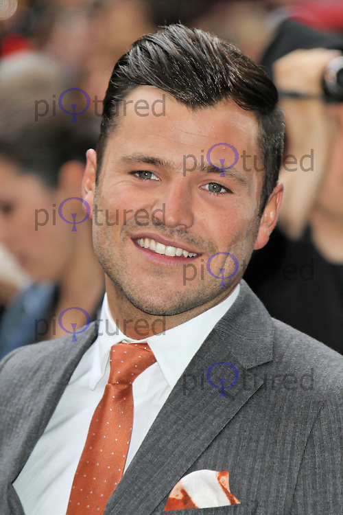 LONDON - JULY 18: Mark Wright attended the European Film Premiere of 'The Dark Knight Rises' in Leicester Square, London, UK. July 18, 2012. (Photo by Richard Goldschmidt)