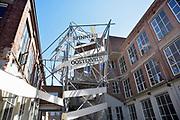 Nederland, Enschede, 2-7-2018In het voormalige fabrieksgebouw van textielproducent van Heek is een modern bedrijvencentrum gevestigd waar vooral beginnende ondernemers ruimte huren . Spinnerij Oosterveld genoemd .Foto: Flip Franssen
