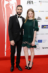 December 10, 2016 - Wroclaw, Lower Silesian, Deutschland - Dejan Bucin and Maria Victoria Dragus attend the 29th European Film Awards 2016 at the National Forum of Music on December 10,2016 in Wroclaw, Poland. (Credit Image: © Future-Image via ZUMA Press)