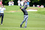 Rory Mcllroy on the 18th fairway during the Celebrity Pro-Am day at Wentworth Club, Virginia Water, United Kingdom on 23 May 2018. Picture by Phil Duncan.