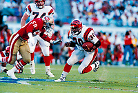 ©2005 TOM DIPACE<br /> ALL RIGHTS RESERVED<br /> 561-968-0600  <br /> Icky Woods  SanFrancisco 49ers circ1989 Superbowl XXIII<br />  BY TOM DIPACE©