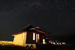 NAMIBIA NAUKLUFT 20APR14 - Star-filled night sky near the  Desert Homestead, Naukluft National Park, Namibia.<br /> <br /> The Namib-Naukluft, encompassing part of the Namib Desert,  is the largest game park in Africa and the fourth largest in the world.<br /> <br /> jre/Photo by Jiri Rezac<br /> <br /> © Jiri Rezac 2014