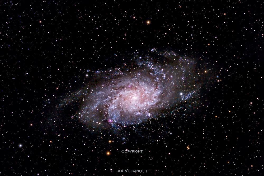 M 33, galaxy in Triangulum