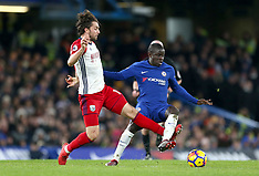 Chelsea v West Bromwich Albion - 12 Feb 2018