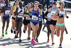 elite women lead, Sinead Diver, AUS, Nike<br /> TCS New York City Marathon 2019