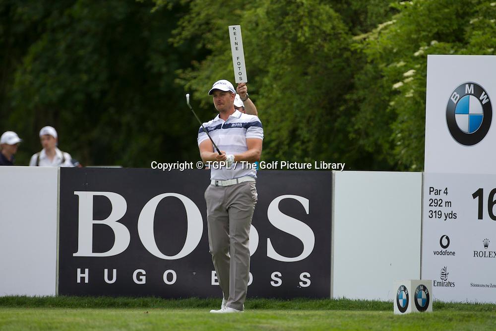 Henrik STENSON (SWE) during fourth round BMW International 2013, Golfclub Munchen Eichenried,Munich,Bavaria, Germany.